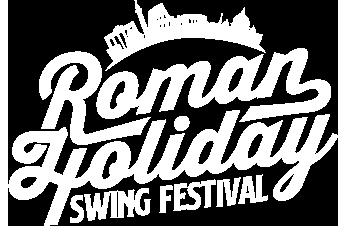 Roman Holiday Swing Festival Logo